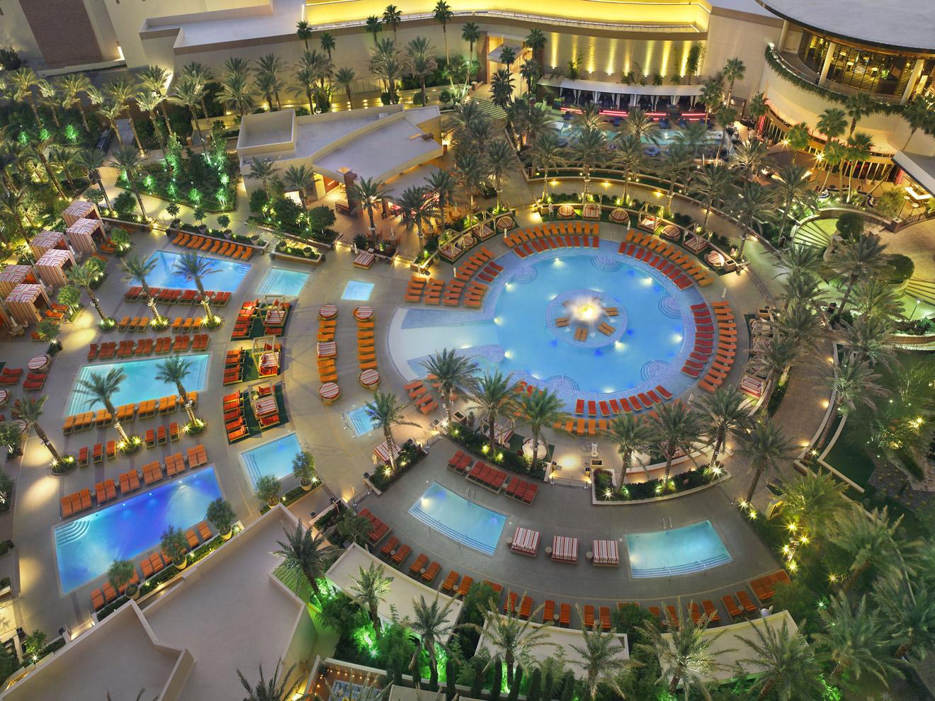 Red Rock Resort Backyard Pool