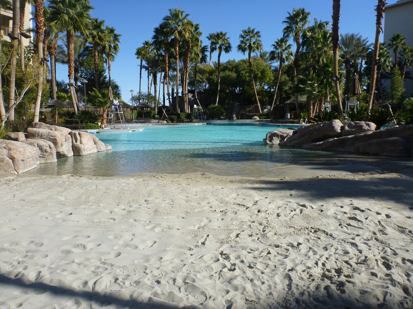 Tahiti Village Pool Is One Of The Best Family Pools In Las Vegas