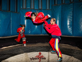 Kids at Vegas Indoor Skydiving