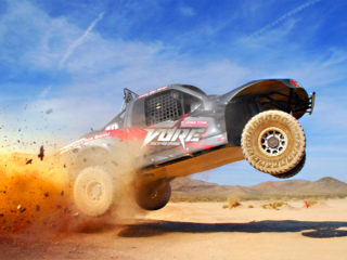 Truck Jump at VORE Vegas Off-Road Experience